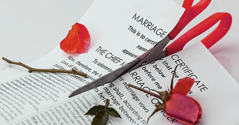 divorce and valentines day