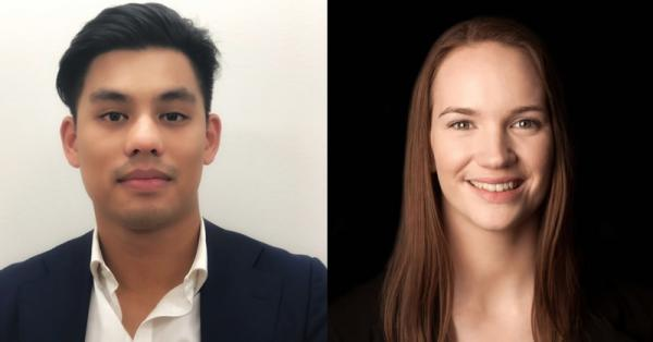 Robert Le and Emily Austin at Tiyce Lawyers
