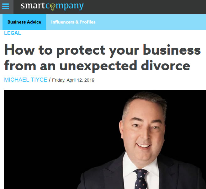 protect business from divorce