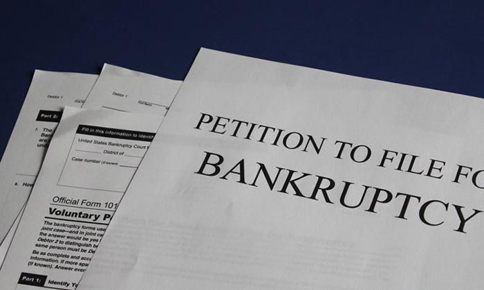 bankruptcy in family law
